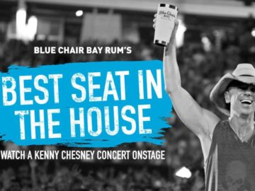 Best Seat In The House: Watch a Kenny Chesney Concert Onstage Sweepstakes