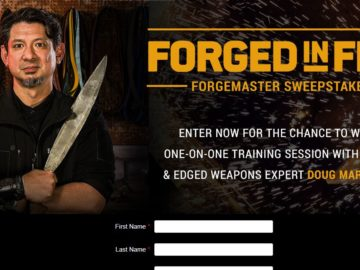 Forged in Fire: Forgemaster Sweepstakes
