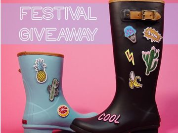 Win a Pair of Rain Boots Plus Cool Patches!