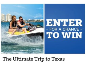 Win the Ultimate Trip to Texas!