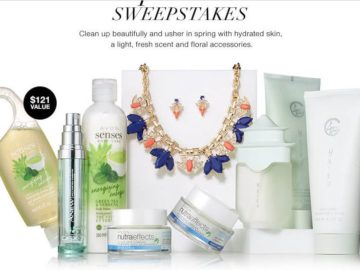 Avon April Showers Sweepstakes