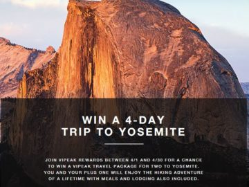 The North Face VIPeak Travel Sweepstakes