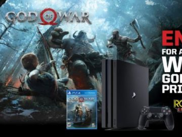 Rockstar and Loves God of War Sweepstakes (Limited States)