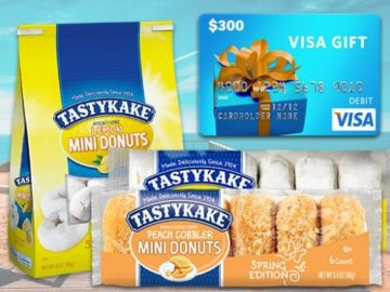 Win a $300 Visa Gift Card and a Year Supply of Tastykake Treats