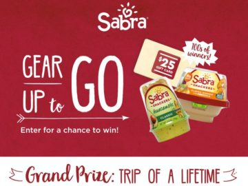 "Sabra ""Gear Up To Go"" Sweepstakes"