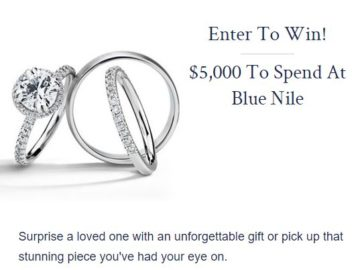 Win $5,000 in Blue Nile Jewelry