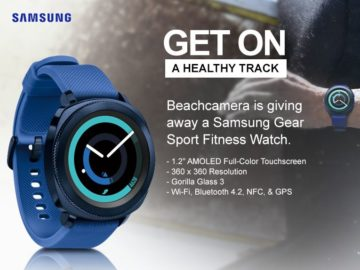 Win a Samsung Gear Sport Fitness Watch