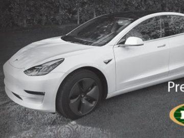 Win a 2018 Tesla Model 3