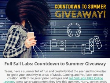 Full Sail Labs: Countdown to Summer Giveaway Sweepstakes