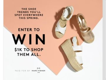 Refinery29 + Marc Fisher Spring Fashion Sweepstakes