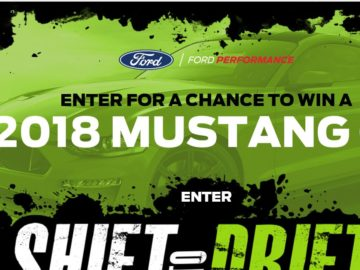 Win a 2018 Ford Mustang GT