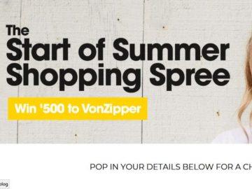 Win a $500 VonZipper Voucher