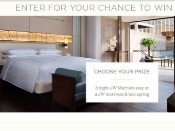 JW Marriott Sweepstakes