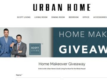 Urban Home Makeover Sweepstakes