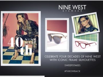 Nine West 40th Anniversary Sweepstakes