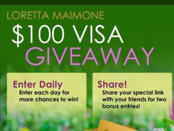 Win a $100 Visa Gift Card (Facebook)
