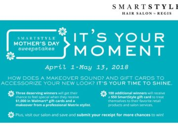 SmartStyle Mother's Day Sweepstakes