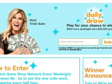 """Game Show Network """"Daily Draw"""" Sweepstakes (Watch and Win)"""