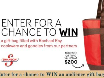 Rachael Ray Every Day Gift Bag Sweepstakes