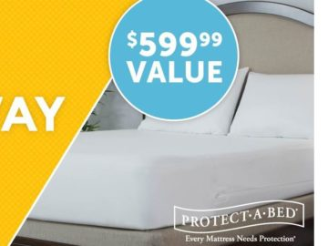 Win a Queen Size Protect-A-Bed Allergy-free mattress