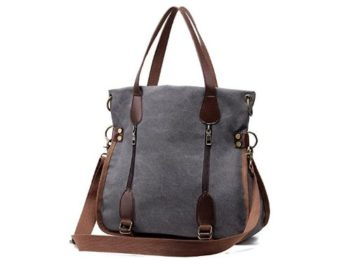 INSTANTLY WIN a Women's Canvas Tote Bag