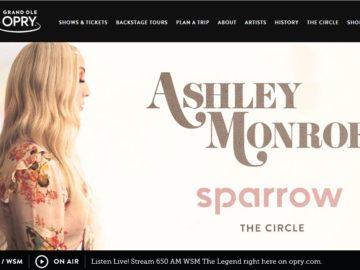 Ashley Monroe Sparrow Sweepstakes