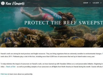 Raw Elements Protect the Reef Sweepstakes
