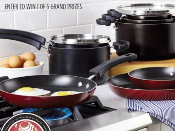 Farberware Cookware Stacked and Intact Sweepstakes