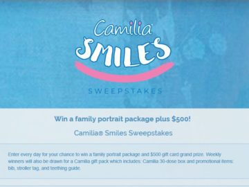 Camilia Smiles Sweepstakes