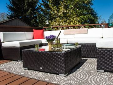 Aosomu0027s U201cOutdoor Patio Conversation Setu201d Sweepstakes