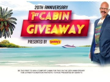 Tom Joyner Morning Show 20th Anniversary Cabin Sweepstakes