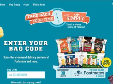 Simply Take Back Your Time Sweepstakes (Code)