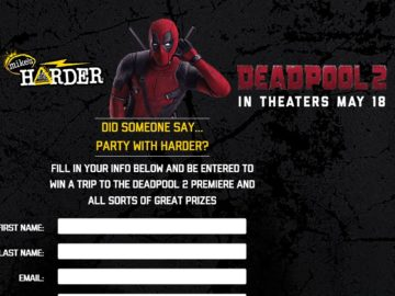 Win a Trip to the DeadPool 2 Premiere!