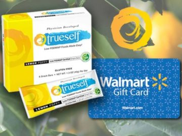 Win a $300 Walmart Gift Card and TrueSelf Foods Snack Bars