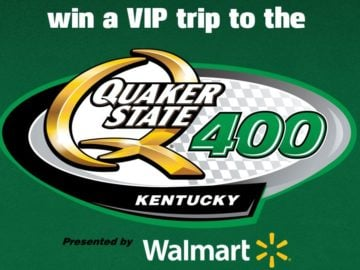Walmart Quaker State 400 Sweepstakes