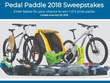 Gander Outdoors Pedal Paddle 2018 Sweepstakes