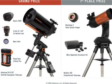 Celestron's Dream Mars Telescope Giveaway Sweepstakes