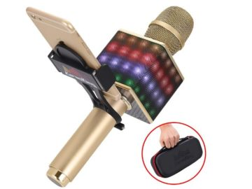 INSTANTLY WIN a Wireless Bluetooth Karaoke Microphone