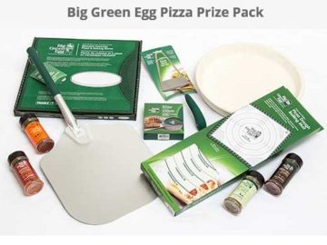 Big Green Egg CastPizza Prize Pack Sweepstakes