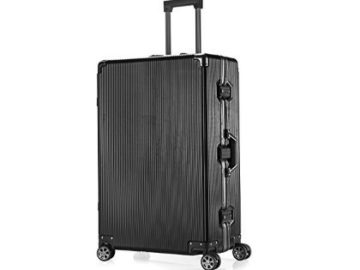 INSTANTLY WIN an Aluminum Frame Luggage