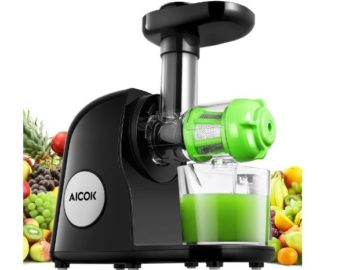 INSTANTLY WIN an Aicok Juicer