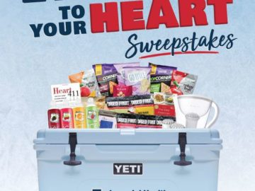Be Nice to Your Heart Sweepstakes (Facebook)