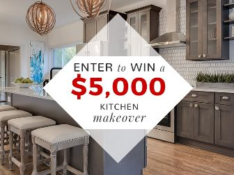Win $5,000 in Kitchen Cabinets