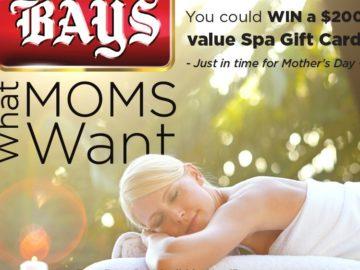 Win a $200 Spa Gift Card (Facebook)