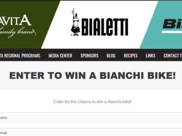 Win a Bianchi Bicycle