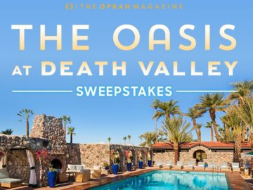 Oprah Magazine The Oasis in Death Valley Sweepstakes
