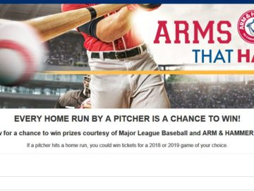 MLB.com Arms that Hammer Sweepstakes