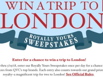 QVC Royally Yours Sweepstakes