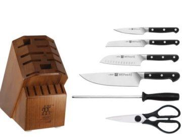 Win a Zwilling 7-piece Pro Knife Block Set