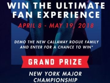 Callaway Golf Ultimate Fan Experience Sweepstakes
